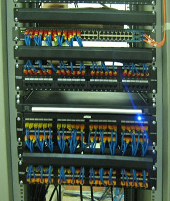 SmallNET installed switchboard system