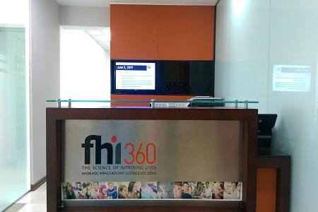 Khách hàng dịch vụ IT và quản trị hệ thống của SmallNET - FHI360