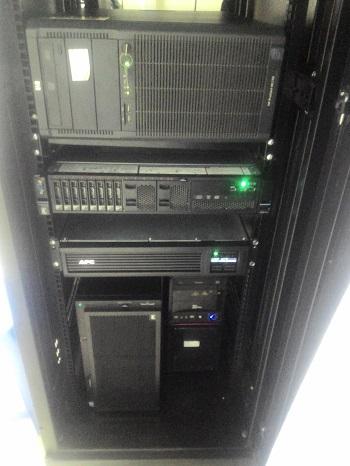 Hệ thống tủ rack được SmallNET thi công, cài đặt