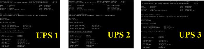 Cấu hình UPS