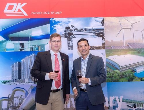 SmallNET chúc mừng Quý khách hàng DK Engineering nhân dịp kỷ niệm 15 năm thành lập